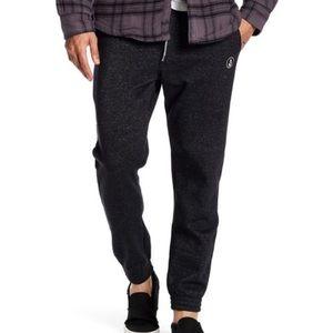 Volcom Pilsdon Fleece Sweatpant Black